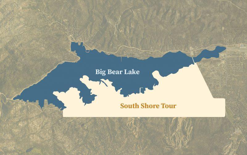 Big Bear Bike Tours - South Shore Tour Area